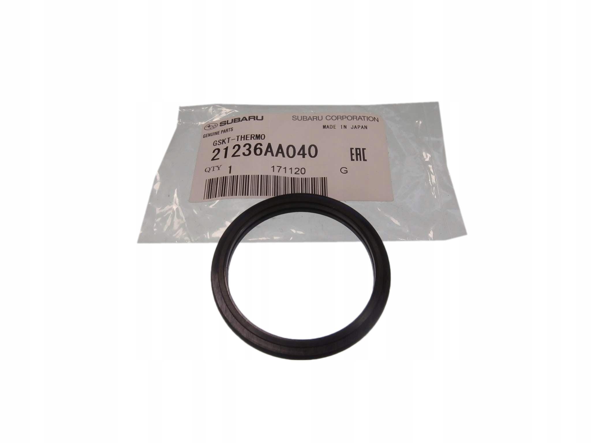 subaru уплотнительное кольцо прокладка термостата nagerzewnicy