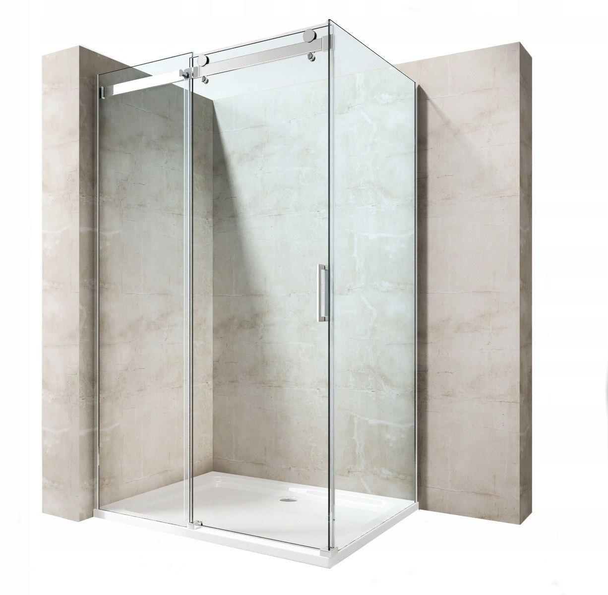Sprcha sklo Martin CHROME 80x120 Ri