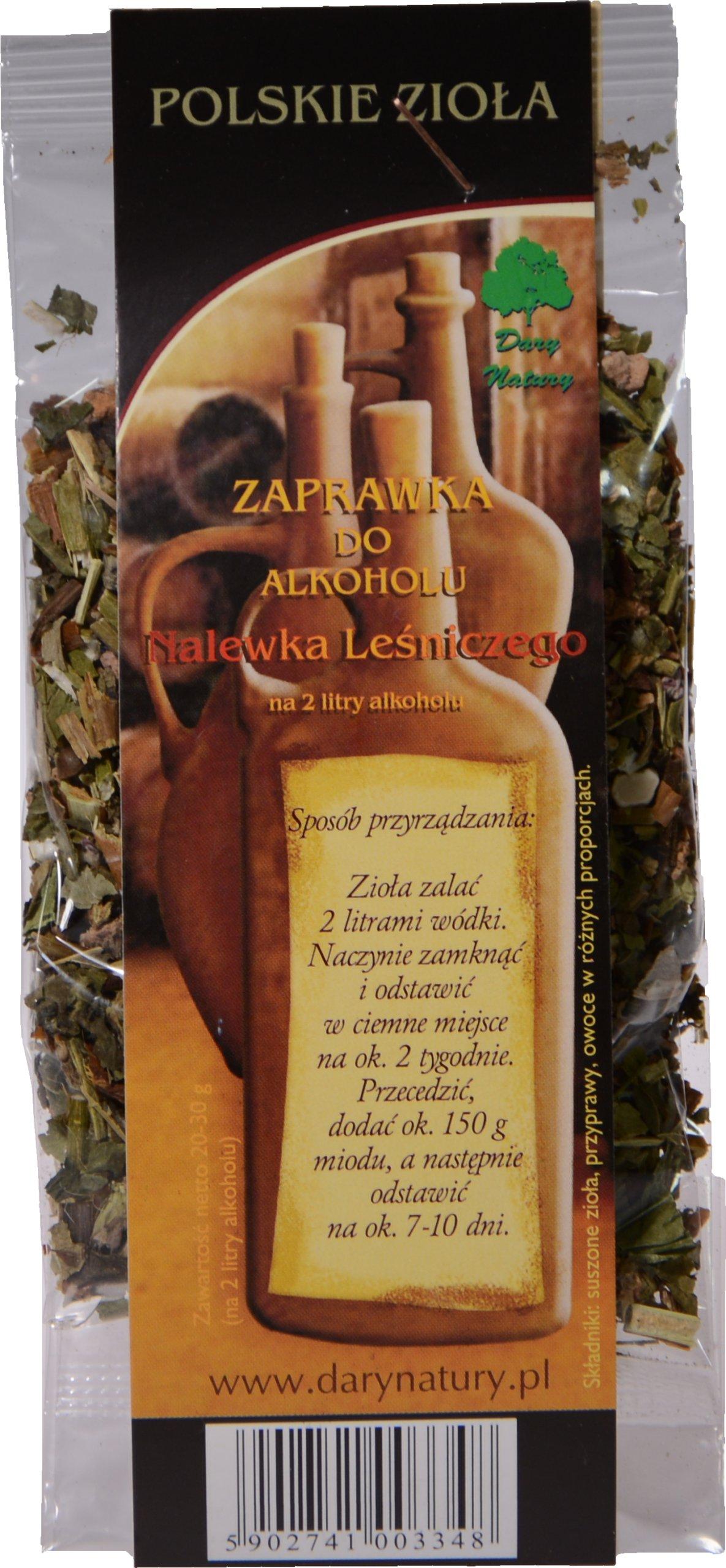 заправка для алкоголя НАСТОЙКА ЛЕСНИКА травы na2l