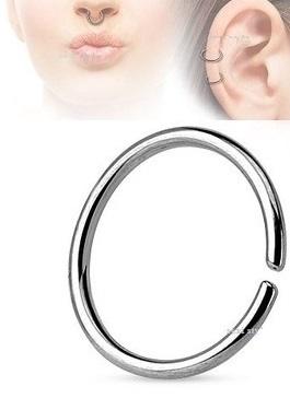 Continuous Ring Kolko Do Nosa Septum Helix 0 8 8 7759127830
