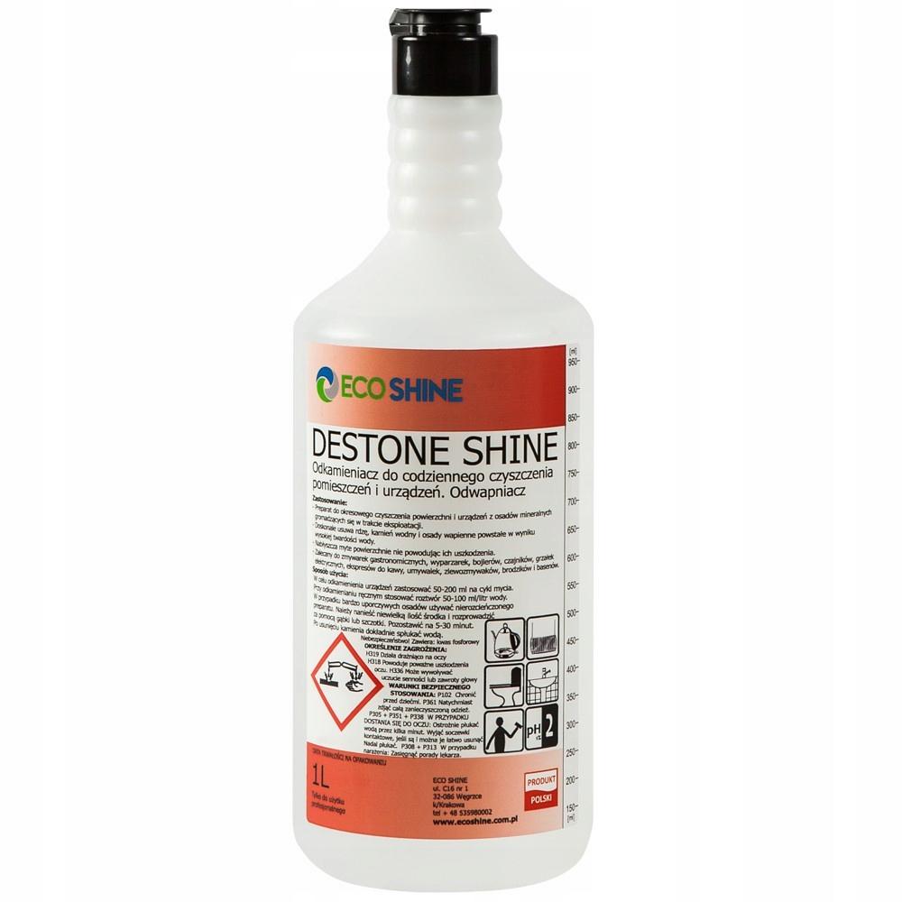 Destone Shine 1L - uniwersalny odkamieniacz