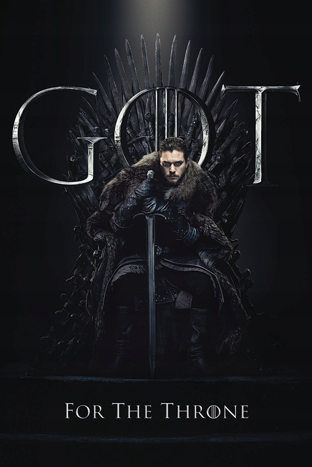 Item Poster Game of thrones Jon For The Throne 61x91,5