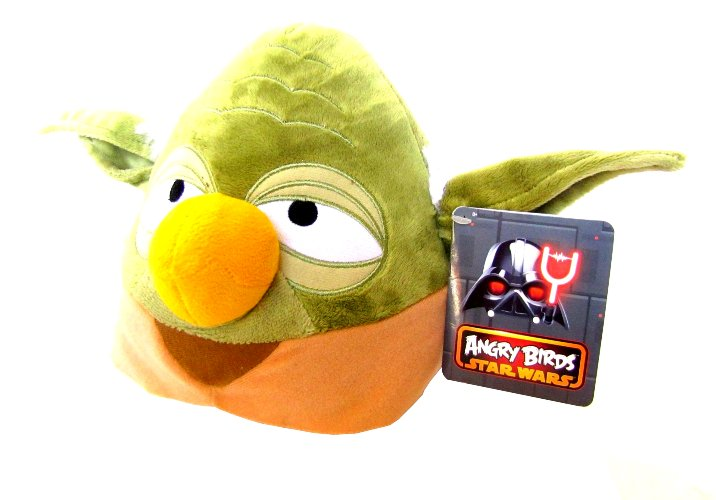 Yoda Maskotka Pluszak Z Angry Birds Star Wars Joda 9776857932 Allegro Pl