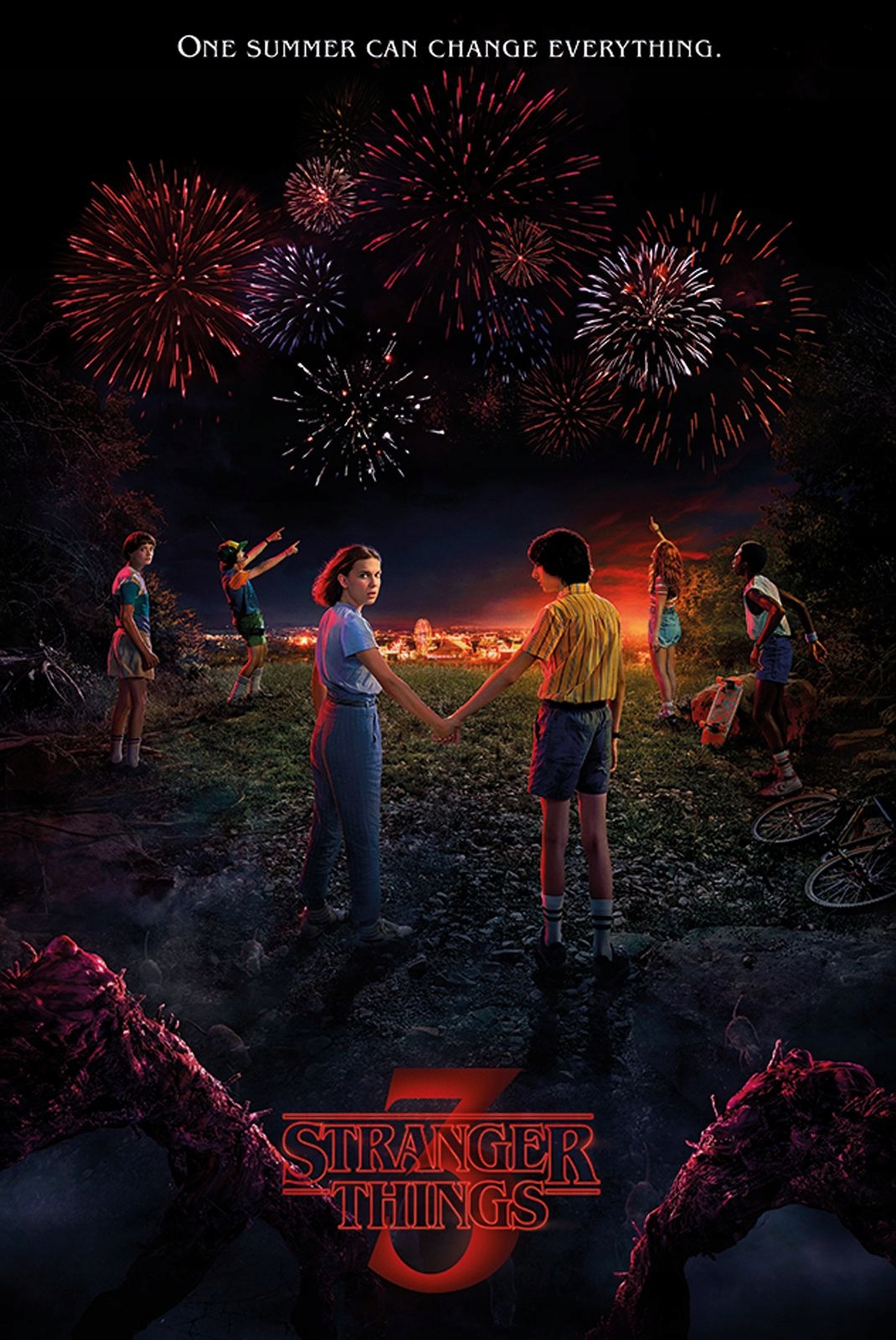 Stranger Things One Summer Plakat 61x915 Cm