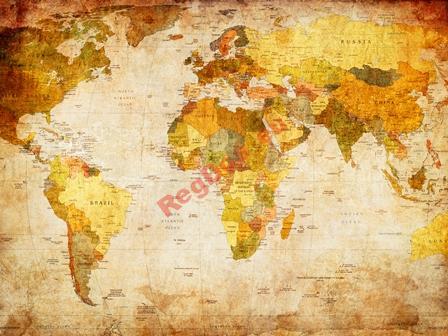 Tapety foto Tapety Mapy Sveta Mapa Sveta VINTAGE