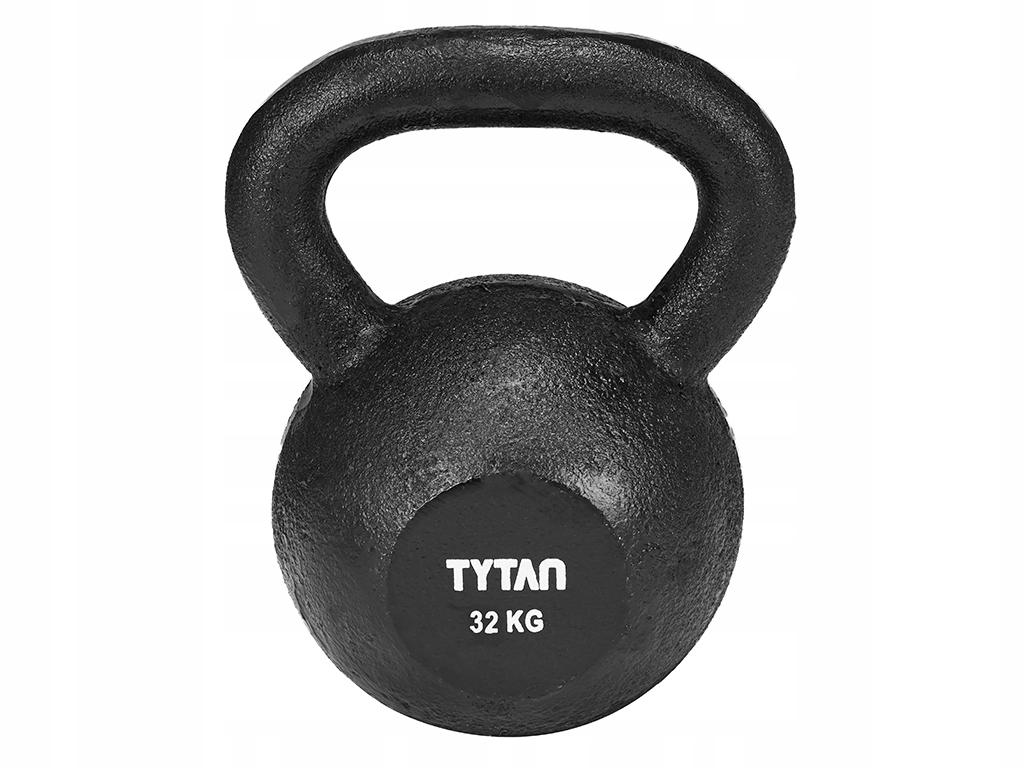 Činka KETTLEBELL Hmotnosť Liatina TYTAN 32 kg