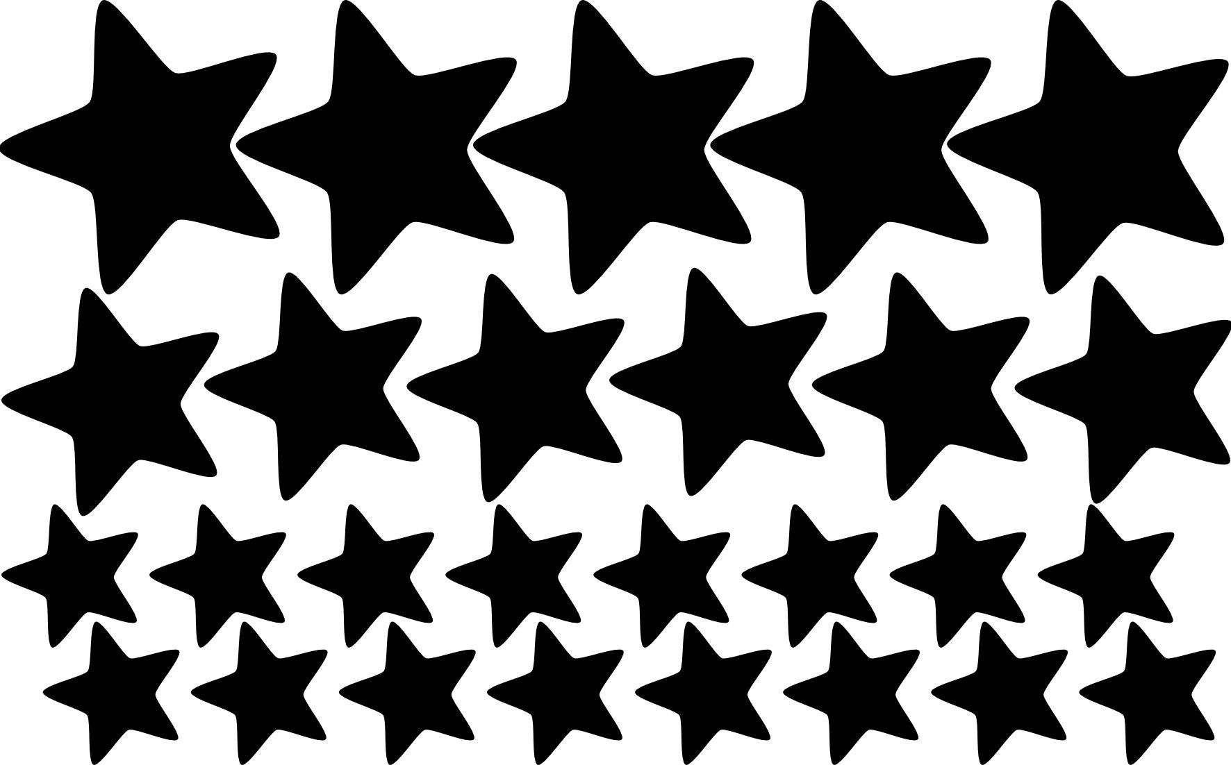 картинки силуэты звезды кожи любых