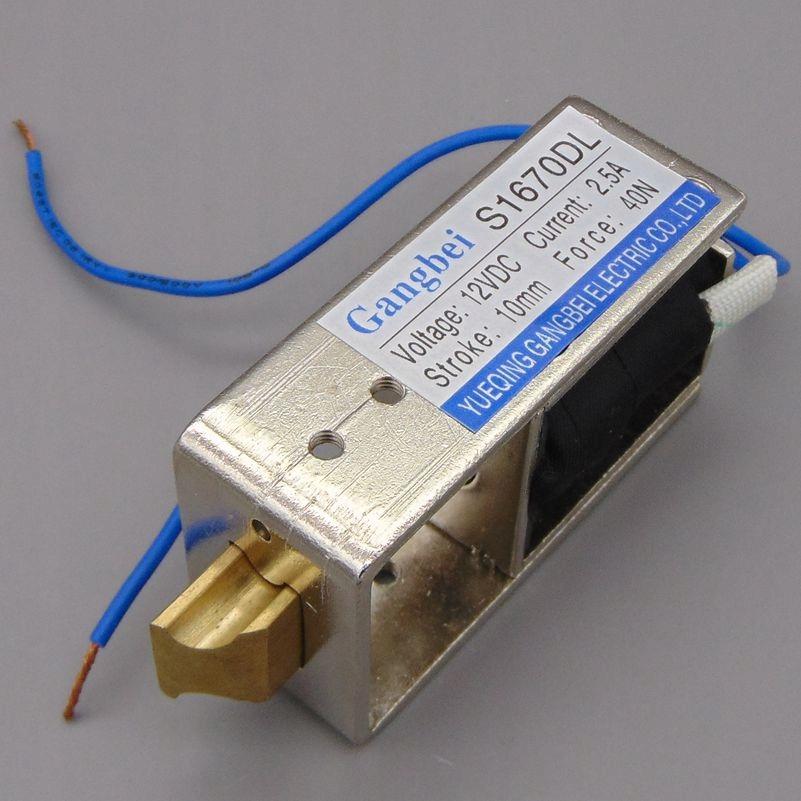 Zamek elektromagnetyczny elektrozamek 12V 40N