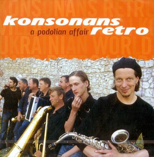 KONSONANS RETRO CD A Podolian Záležitosť