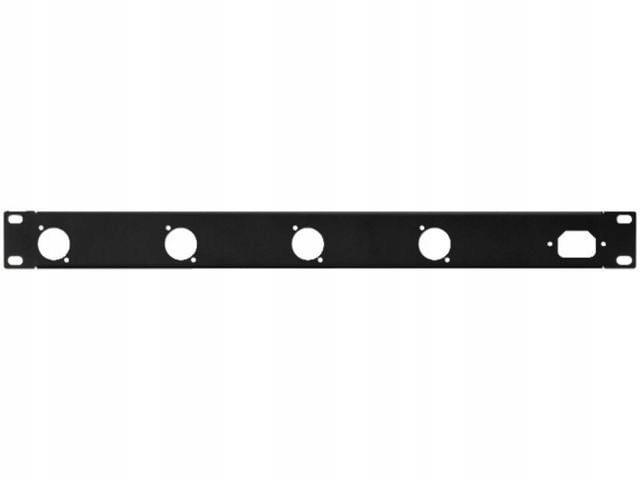 Купить Monacor RCP-8733U Панель 1U Отверстия 4 x серия D на Otpravka - цены и фото - доставка из Польши и стран Европы в Украину.