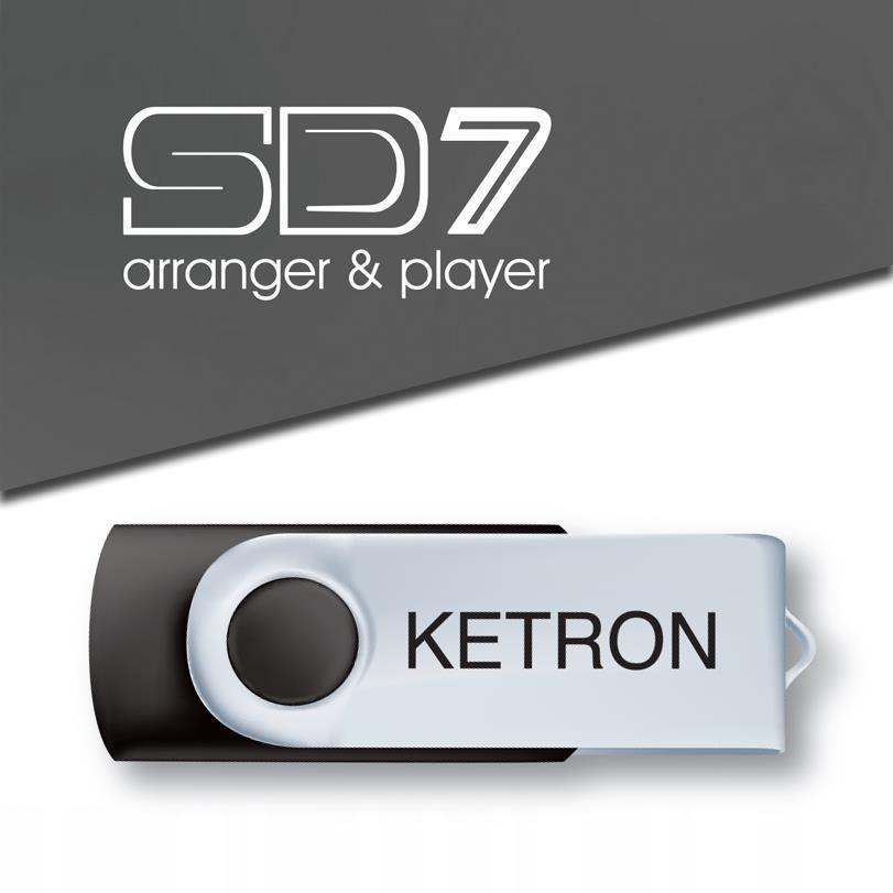 Pen Drive 2016 štýl upgrade vol.4 do SD7, Ketron