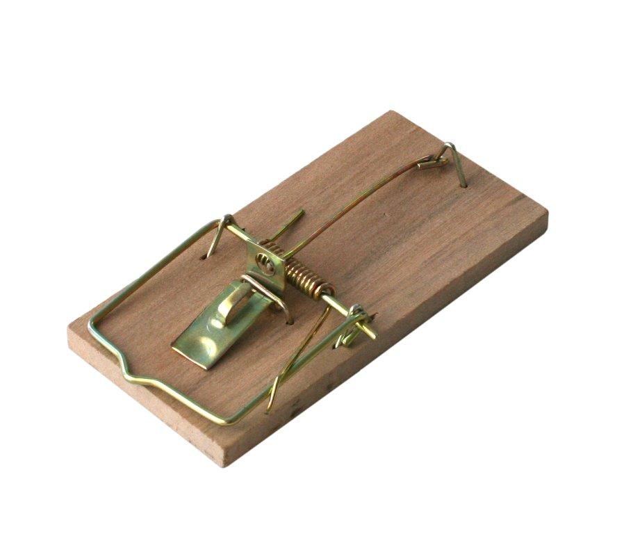ЛАПКА ДЛЯ МЫШИ BROS деревянная ловушка грызунов 1sz