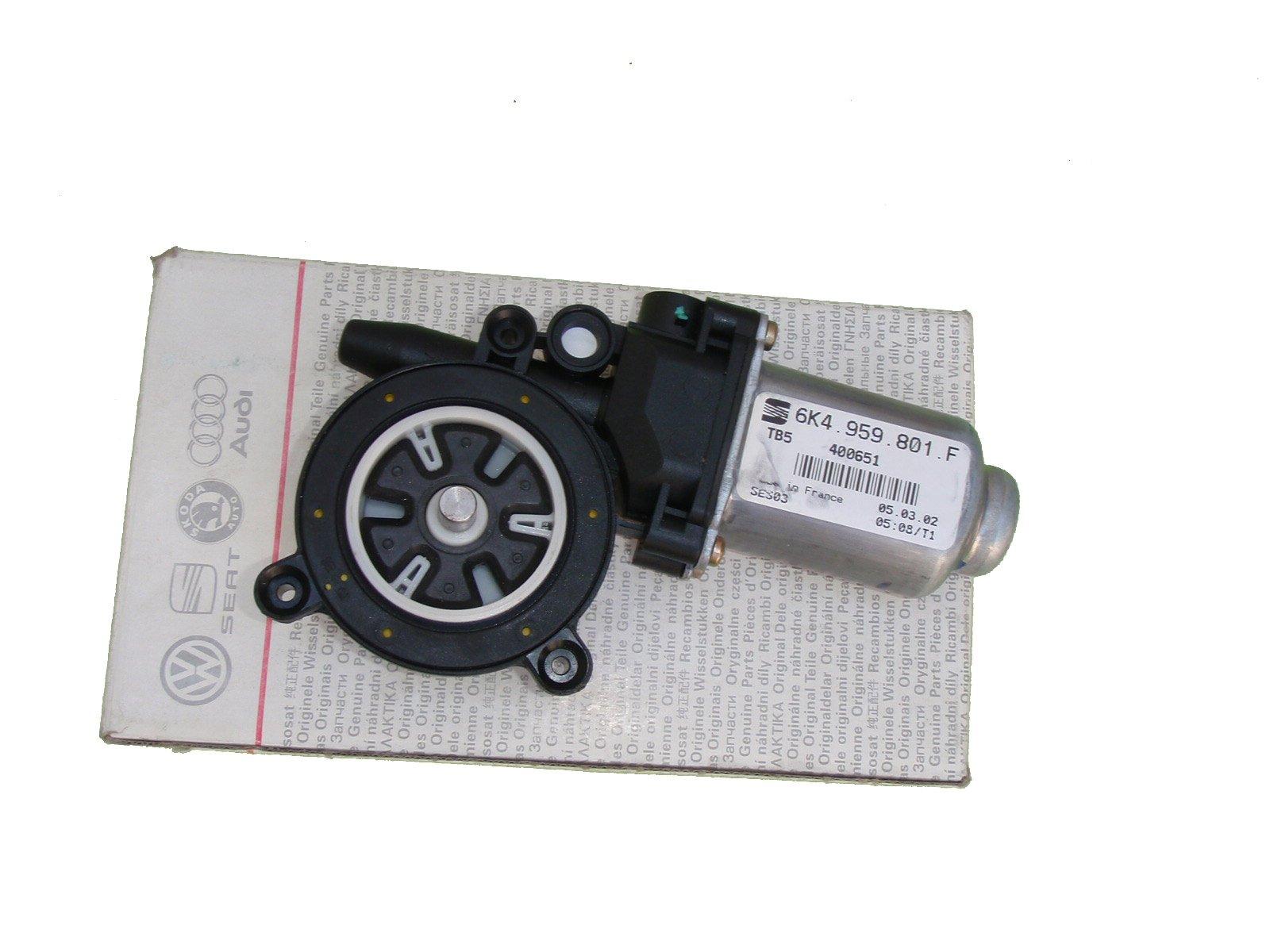 двигатель стекол правый поло cordoba ibiza 2 контакты 99-02