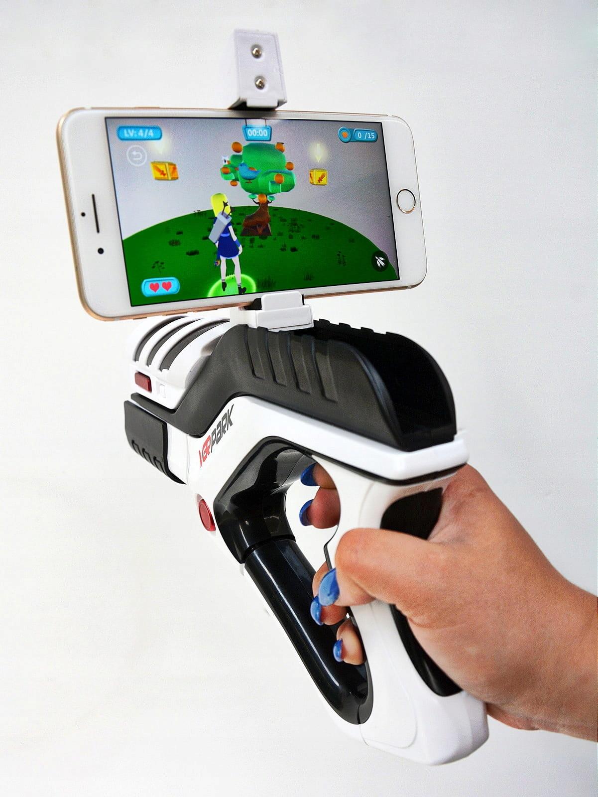 Herná pištoľ s gyroskopom AR GIFT Santa