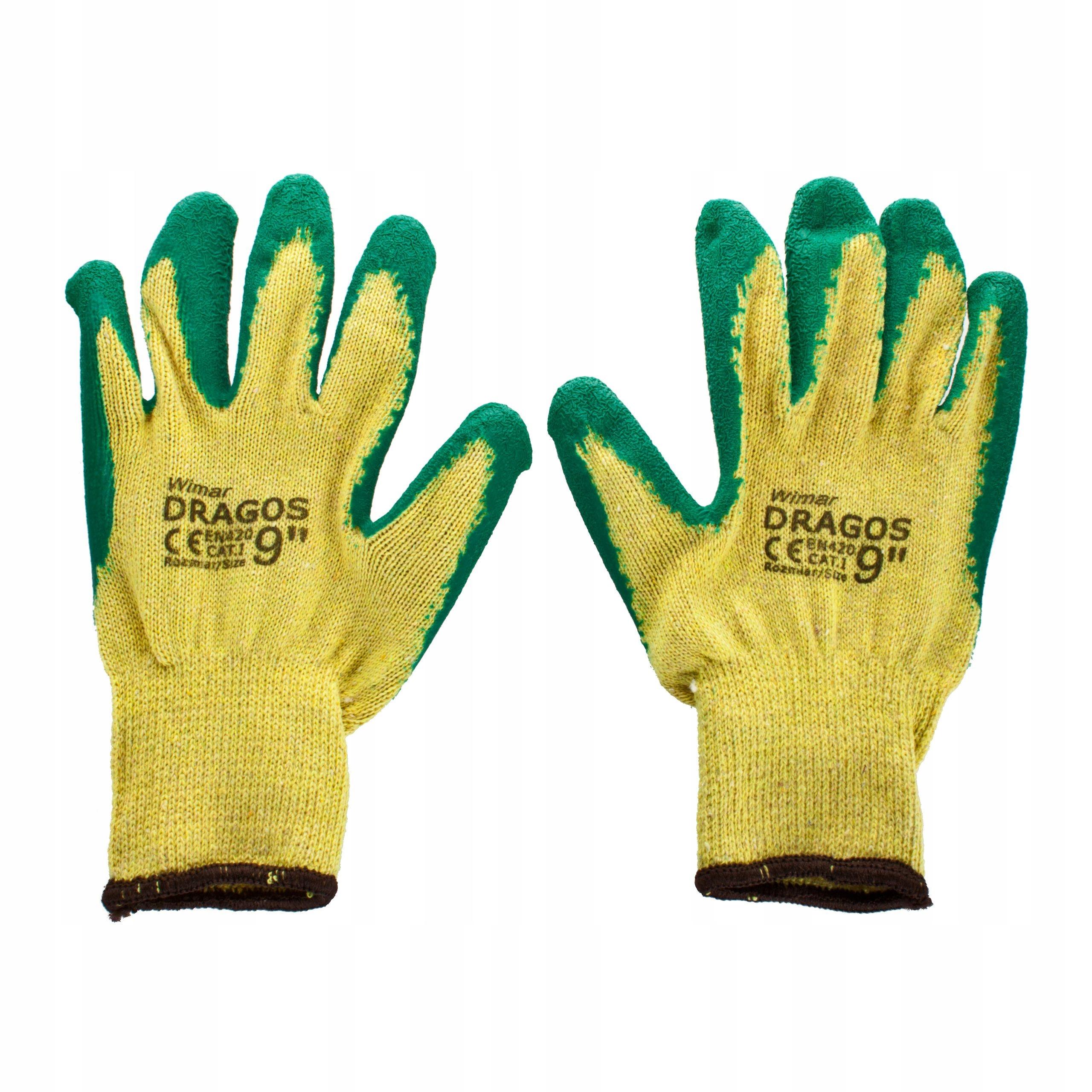 Ochranné rukavice Dragon 9 Pracovné rukavice
