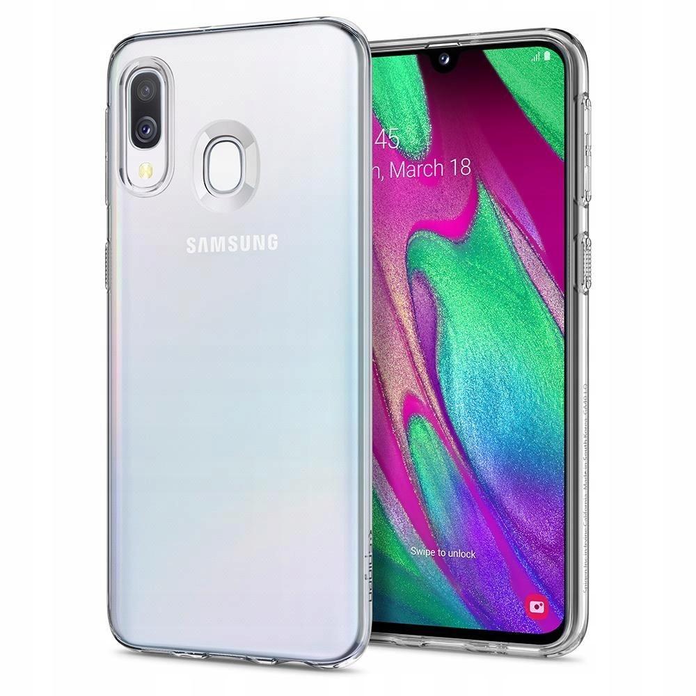 Galaxy A40 | etui obudowa + Szkło | Spigen Liquid