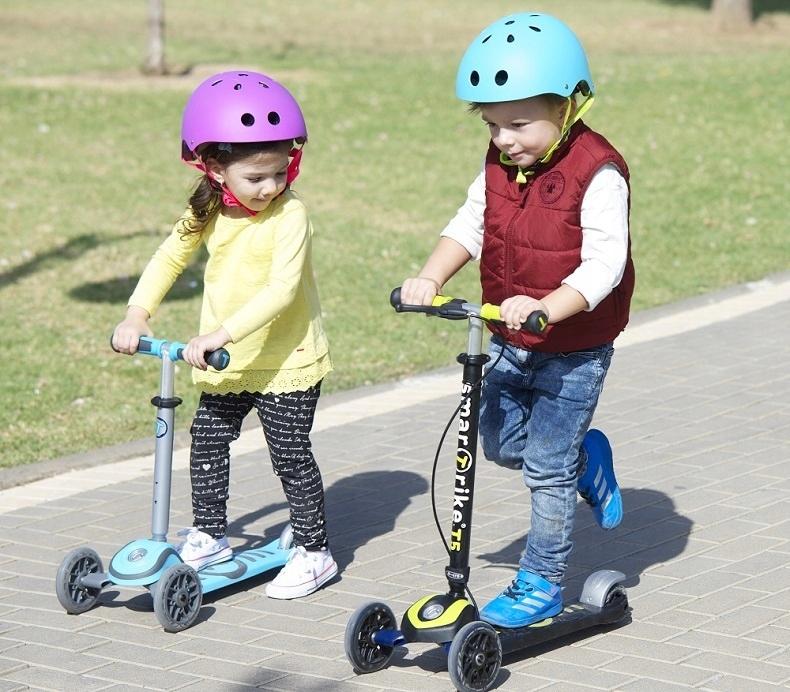 Kask rowerowy ochronny Smart Trike Warszawa (S) Marka Smart Trike