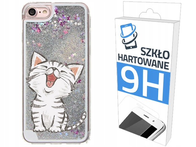 Etui Brokat + Szkło na Apple Iphone 6 Glitter Case