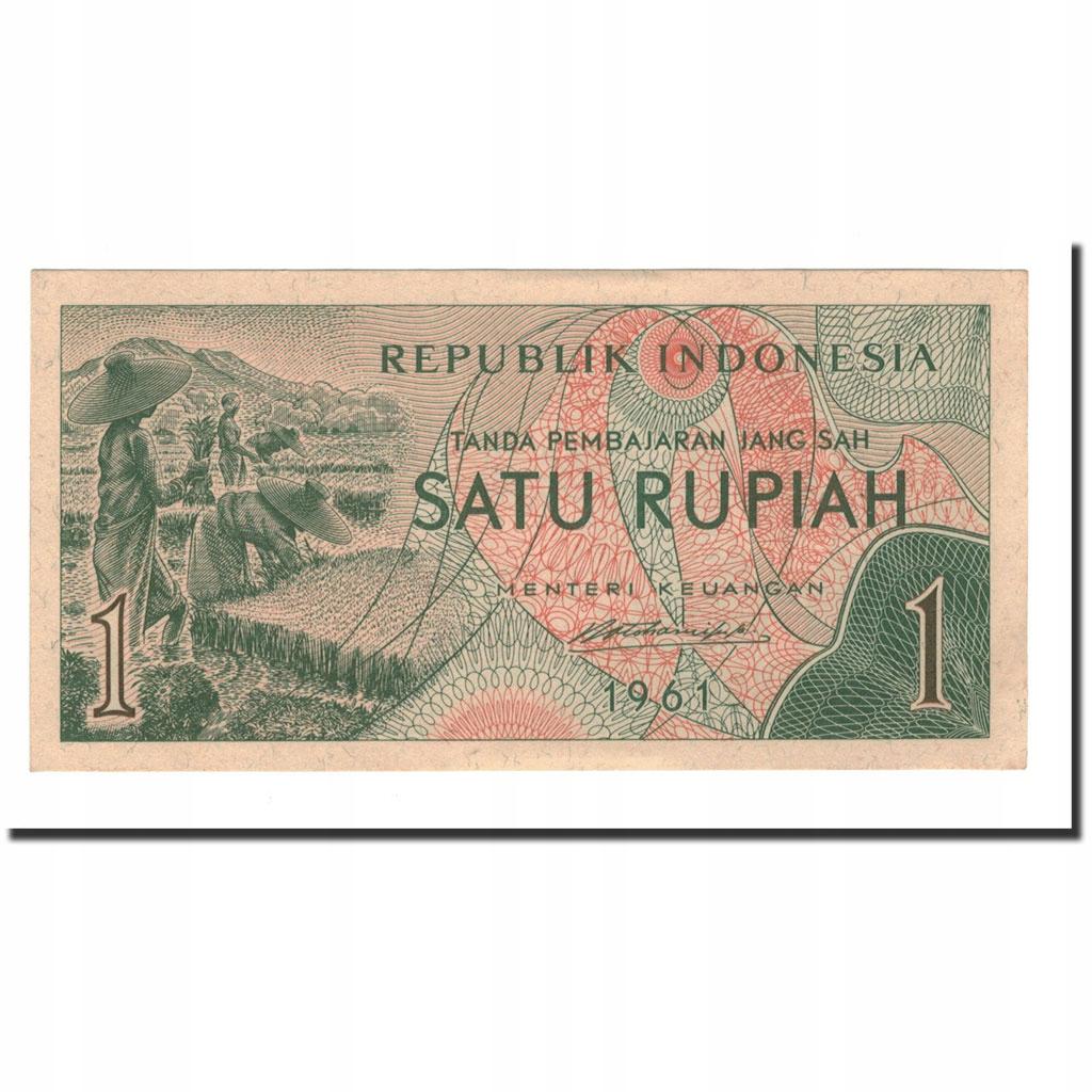 Банкнота, Индонезия, 1 рупия, 1961, КМ: 78, UNC (60-