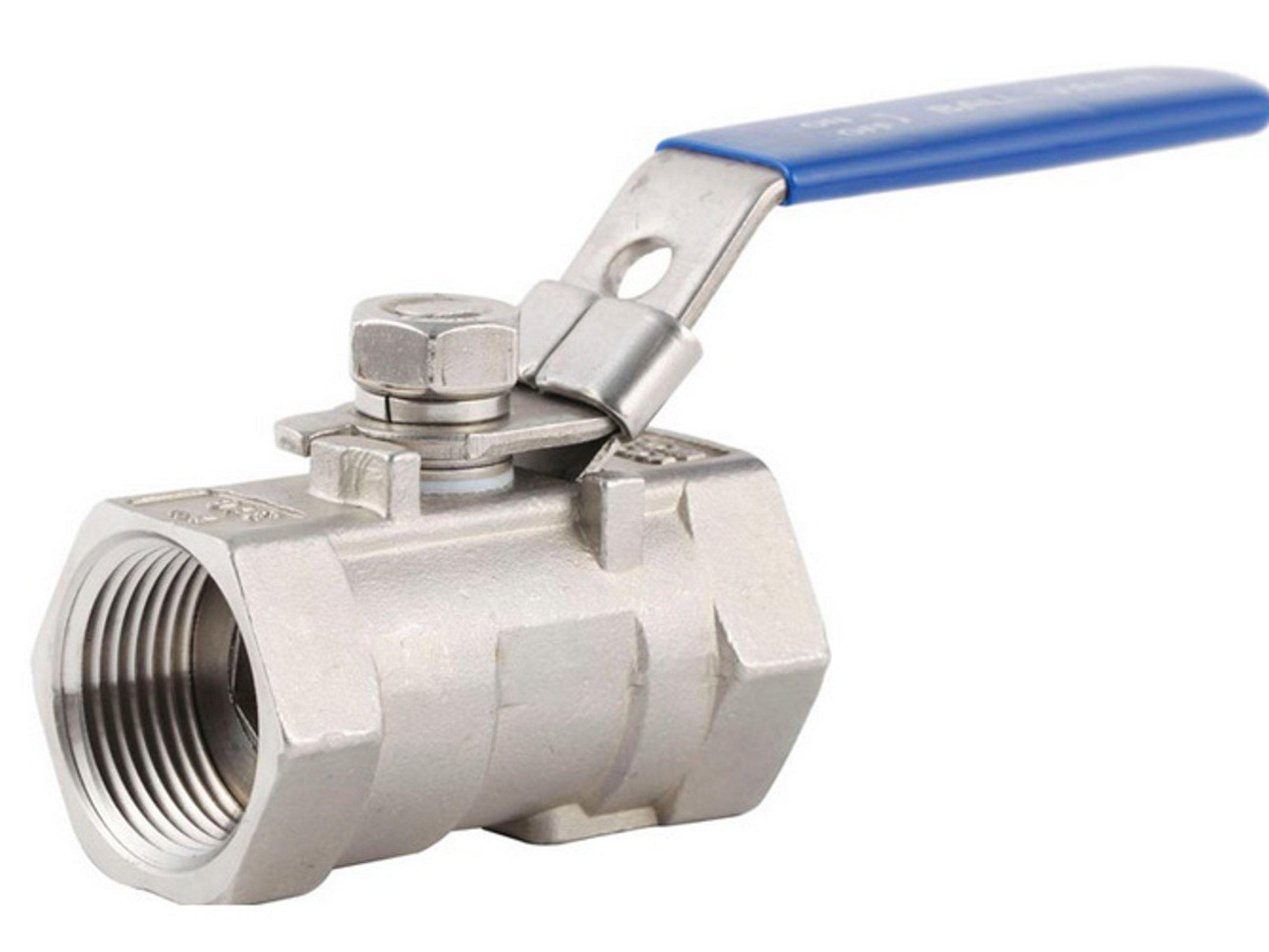 Guľový ventil odolný voči nehrdzavejúcej kyseliny 1-diel 1 1/2