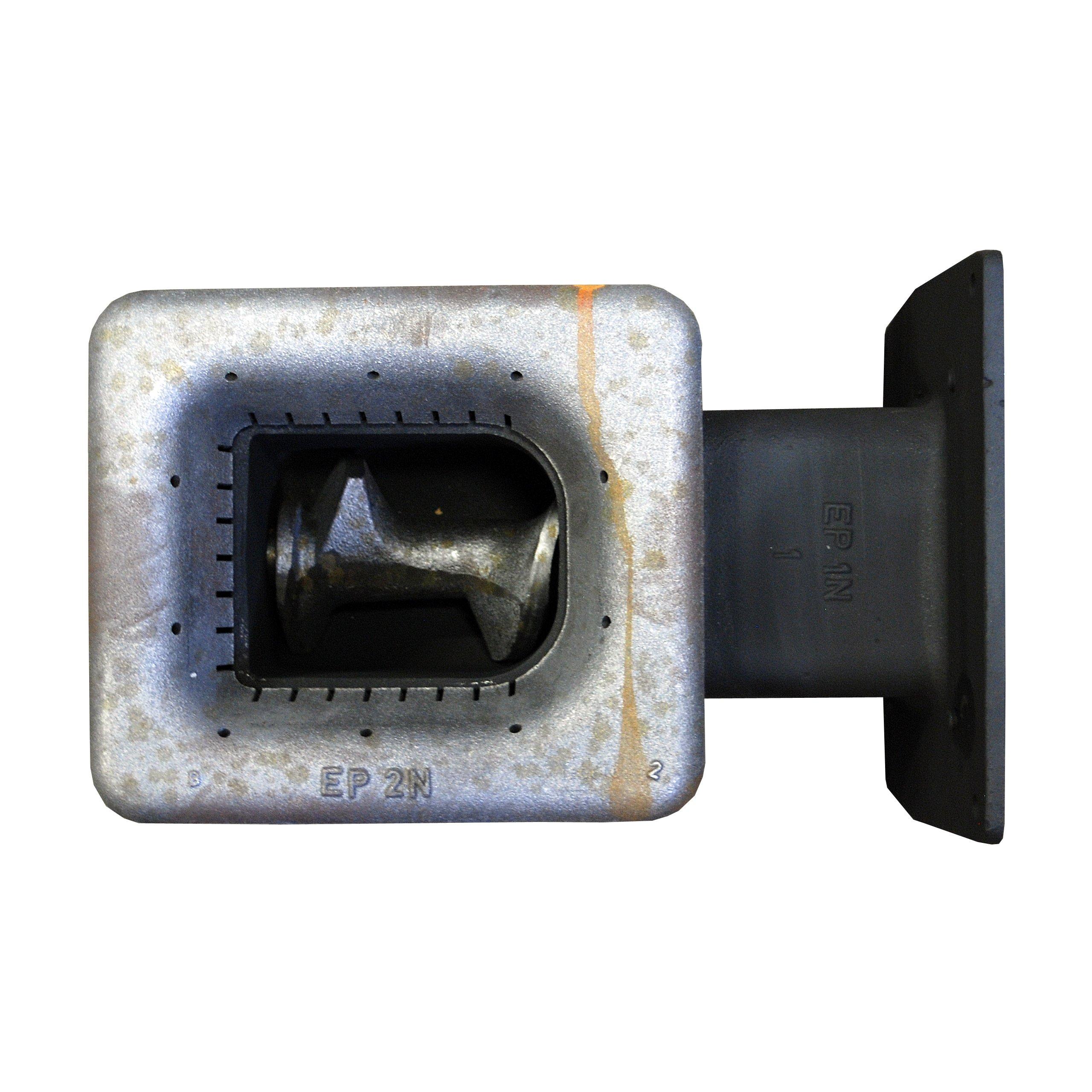 Liatinový podávač, závitovka pre jemnú pec 25 kW. Hmotnosť produktu s jednotkovým balením 100 kg