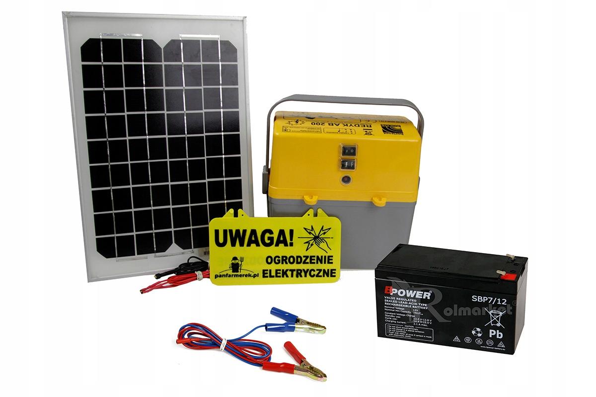 Elektryzator mobile solárne PASTIERSKYCH psoch