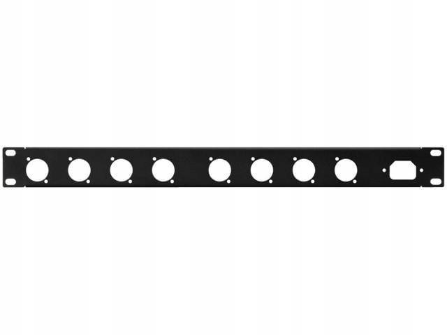 Купить Monacor RCP-8734U Panel rack 1U Otwory 8 x seria D на Otpravka - цены и фото - доставка из Польши и стран Европы в Украину.