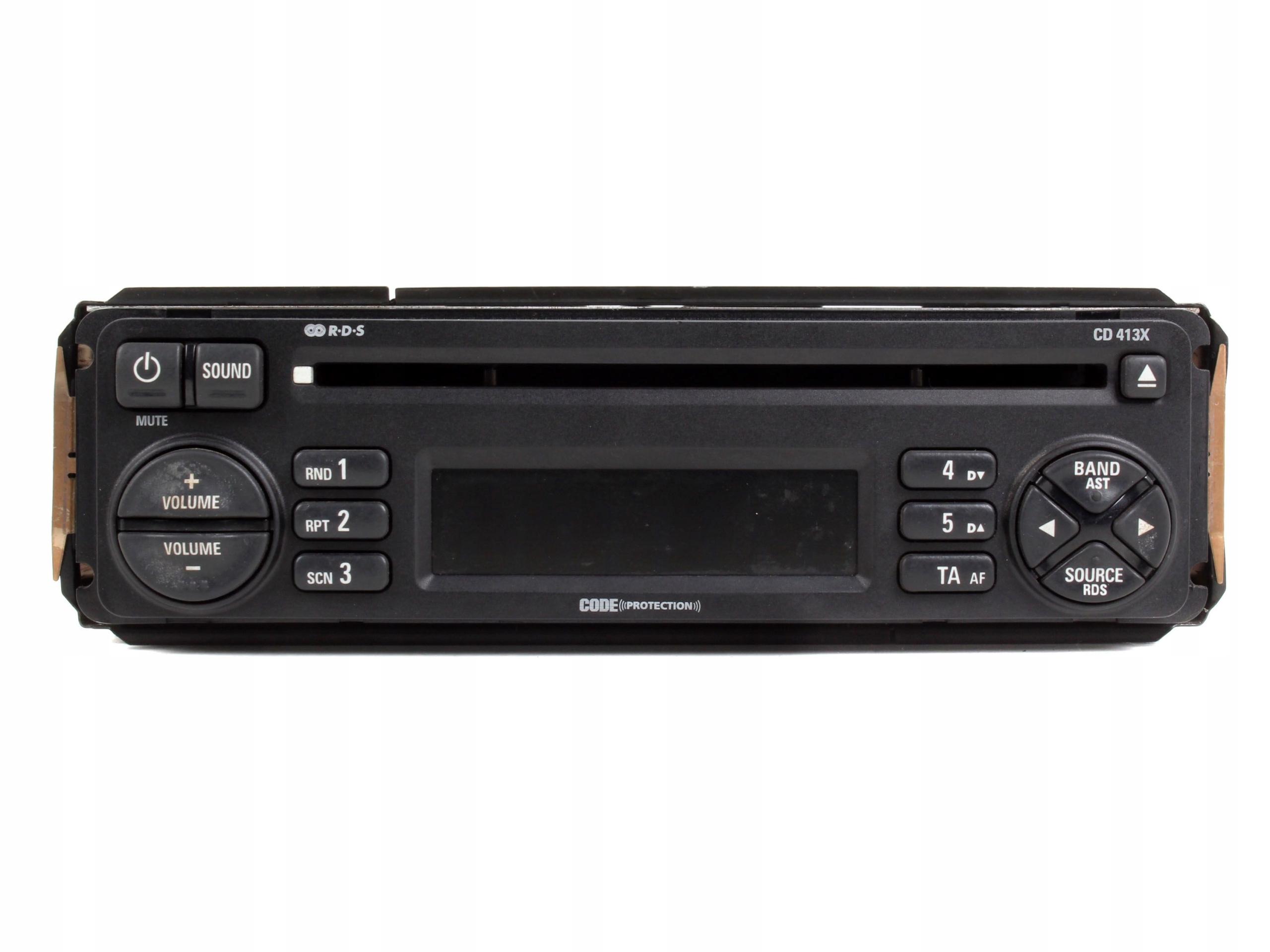 радио плеер cd cd413x rover 200 400 25 45 75