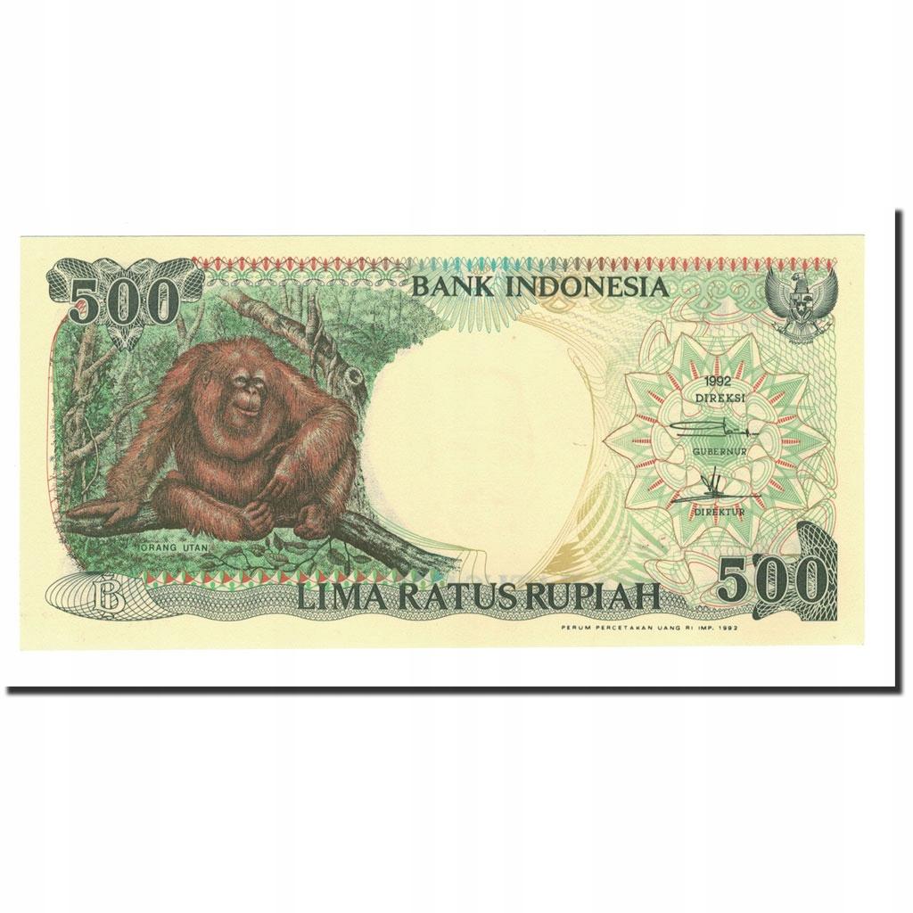 Банкнота, Индонезия, 500 рупий, 1992/1999, 1992, К.