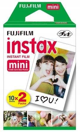 Пополнение FujiFilm Instax Mini на 20 ФОТО!