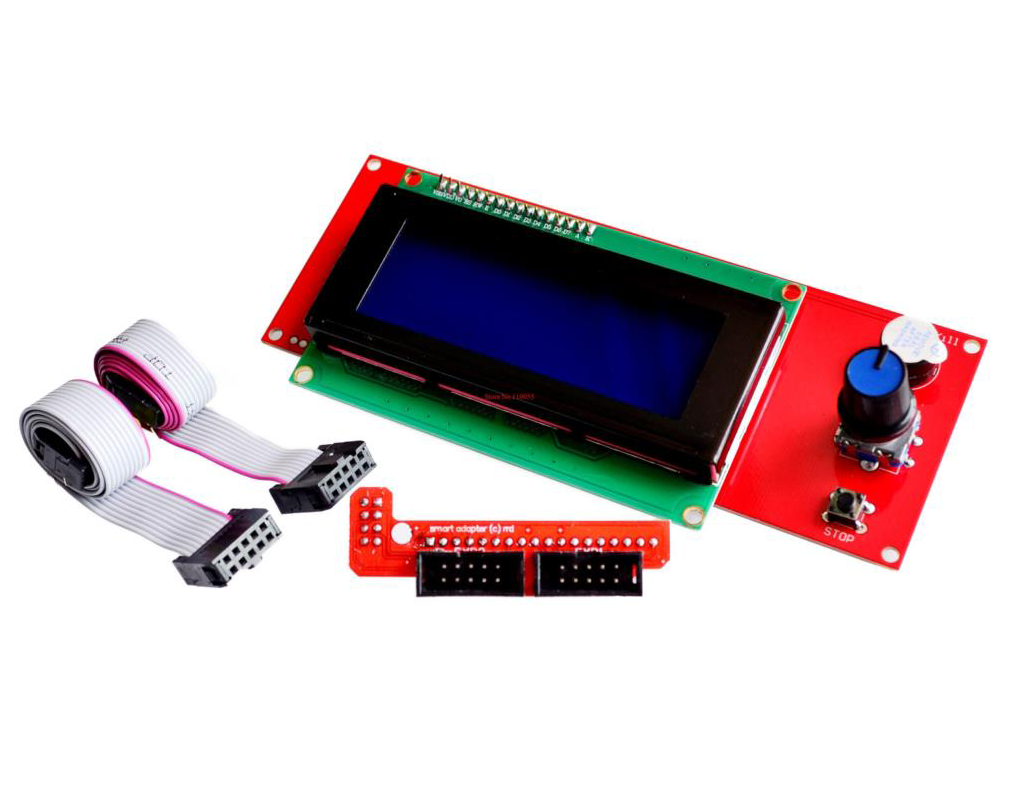 LCD Controller 2004 Rapms 1.4 SD čítačkový adaptér