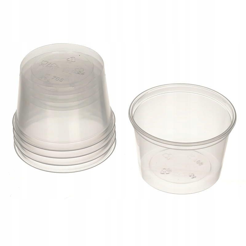 Item POJ02 Bowl, plastic resins 80ml 5pcs.