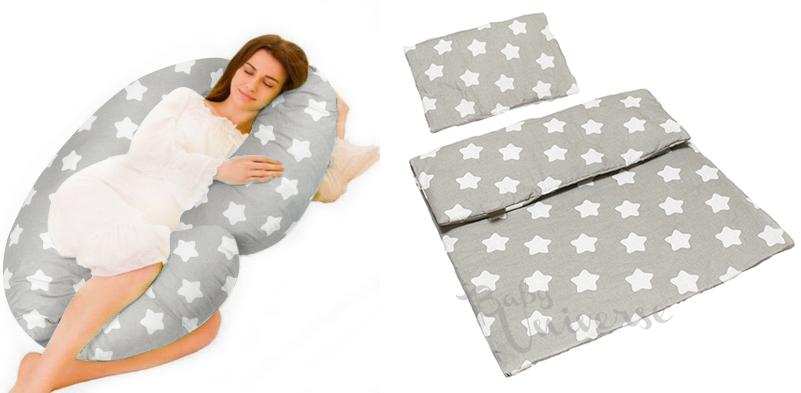 Купить Подушка для беременных КОМПЛЕКТ C ТИП одеяло подушка на Otpravka - цены и фото - доставка из Польши и стран Европы в Украину.