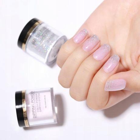 zestaw manicure tytanowy born pretty dip