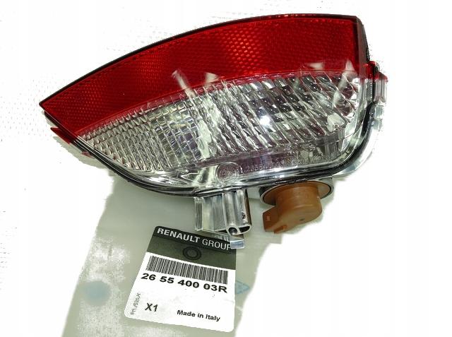 лампа заднего вида правый сзади scenic iii 265540003r org