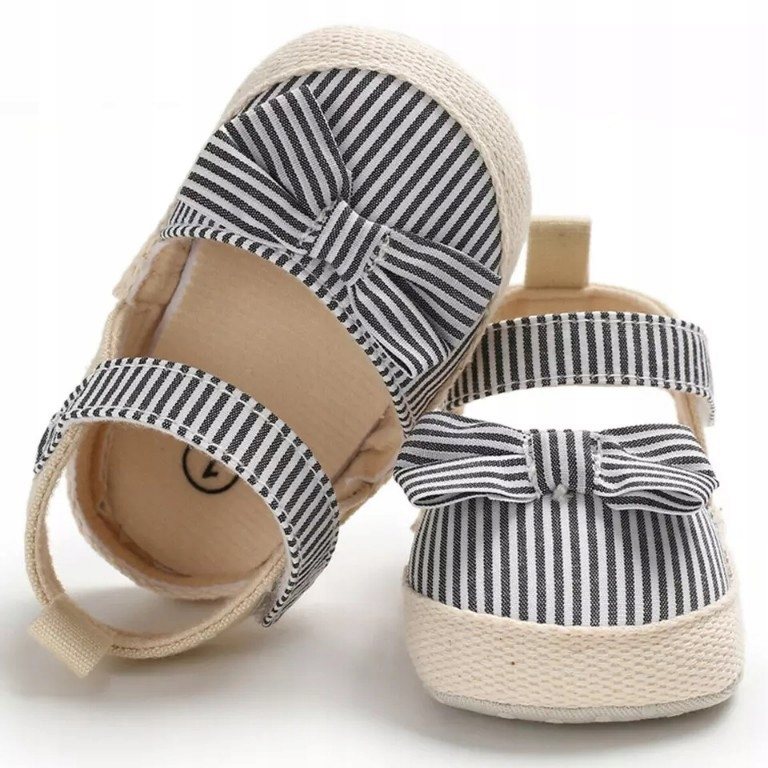 Buty espadryle sandałki niemowlęce modne 18 10cm
