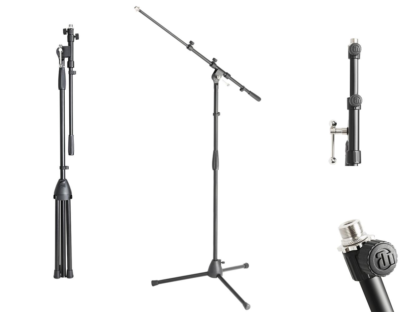 ADAM HALL S6B Mikrofón 94-160cm Úplná regulácia