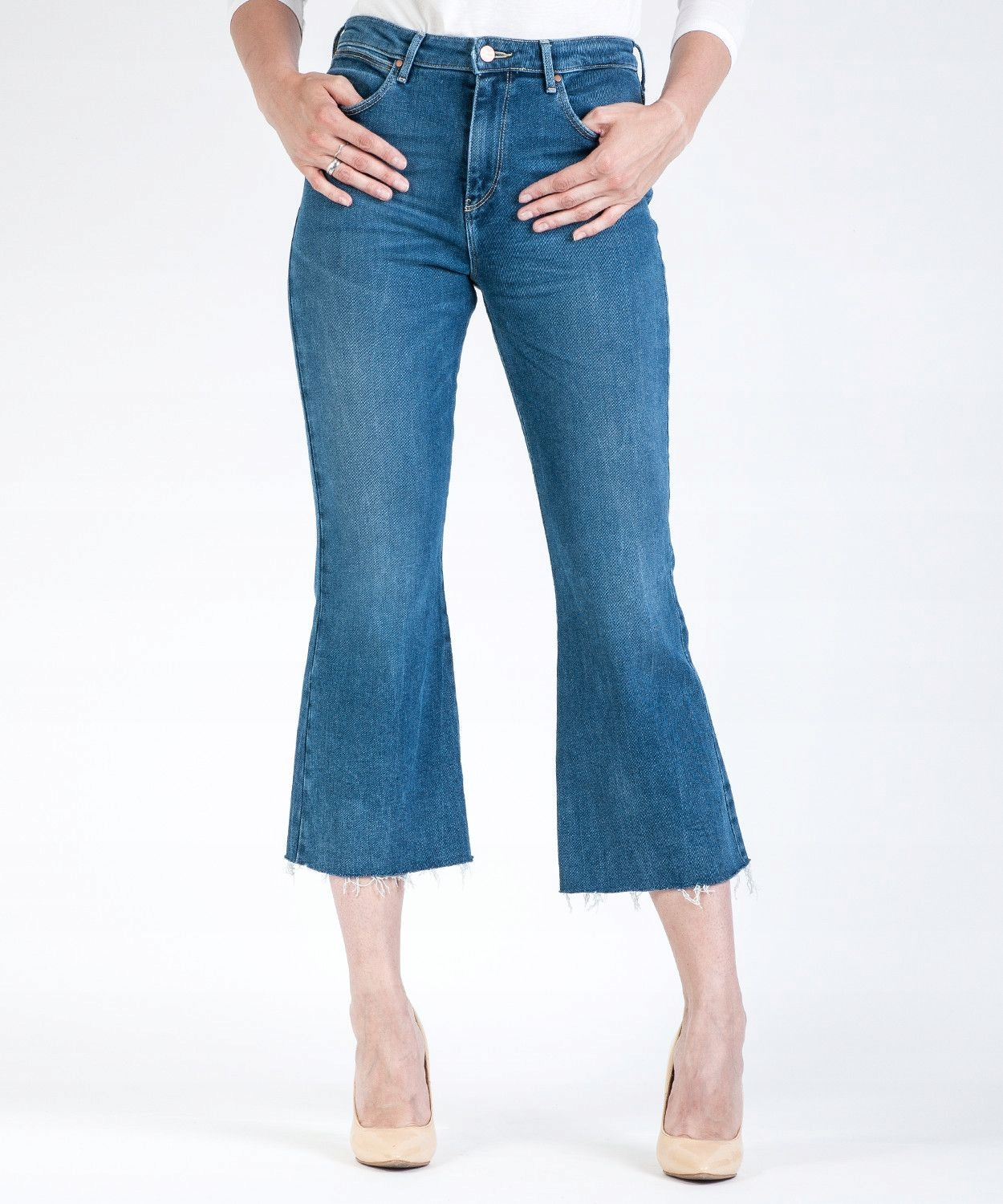 Wrangler Cropped Flare W23070016 Dancing Days 28