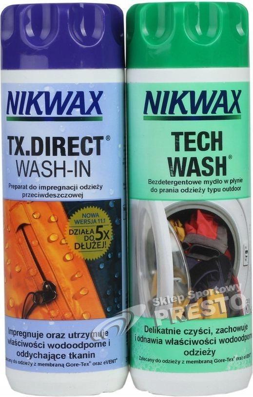 Nikwax Tech Wash + TX Direct 600мл Жидкости пропитка