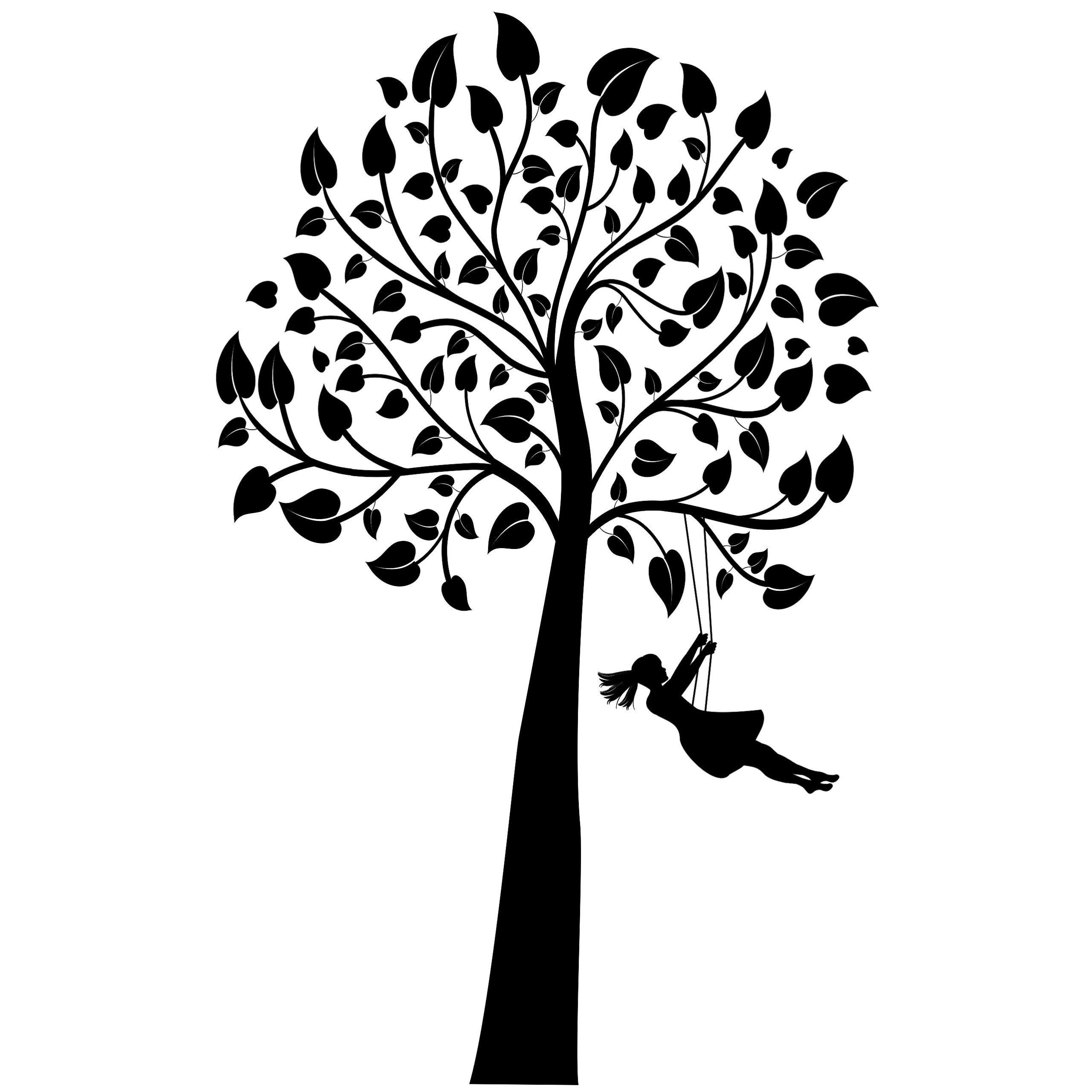Nástenné nálepky na strome stromu 120cm XL