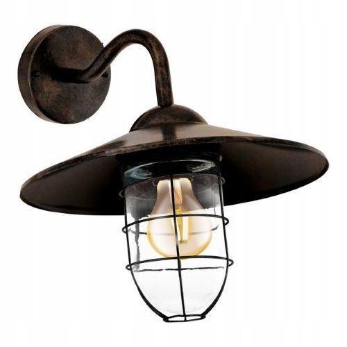 1pł Záhradná nástenná lampa MELGOA Eglo RETRO