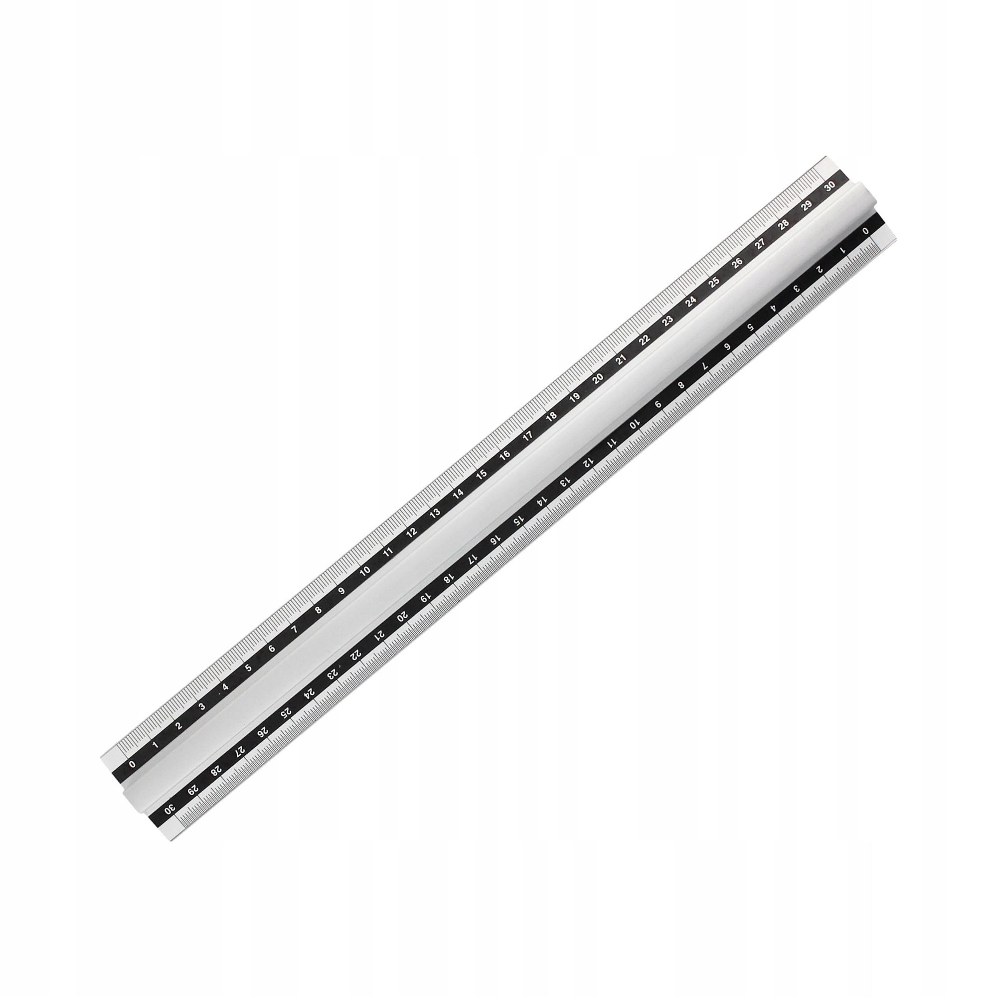 Item Ruler 30 cm aluminum handle Grand GR115-30