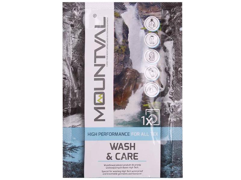 Жидкость для Стирки, Устойчивость Mountval Wash&Care