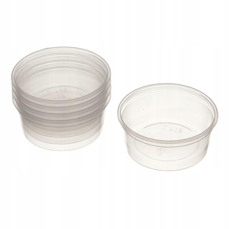 Item POJ05 Bowl, plastic resins 50 ml 5pcs.
