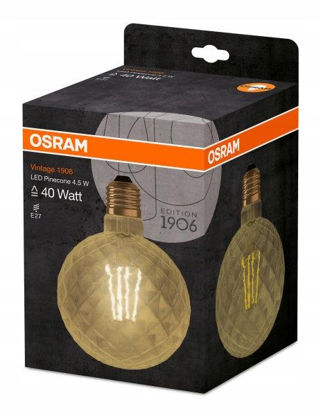VINTAGE BOROVICA OSRAM LED GLOBE E27 2400K 4.5 V 2037