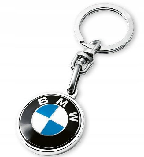 Brelok breloczek BMW do kluczy metalowy brylok