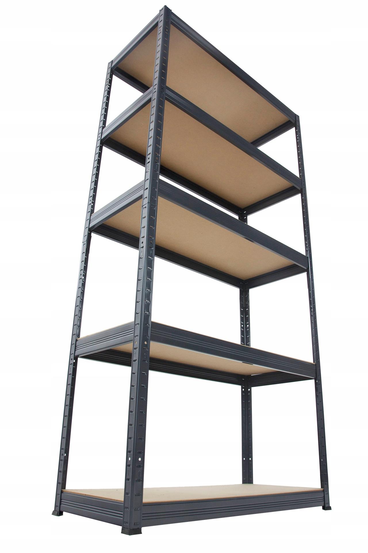 Стеллаж металлический позиция премиум 180x100x60 5p 1G