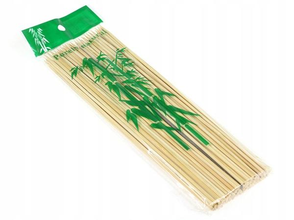 Bambusové palice pre špízy 20cm (asi 80 kusov)