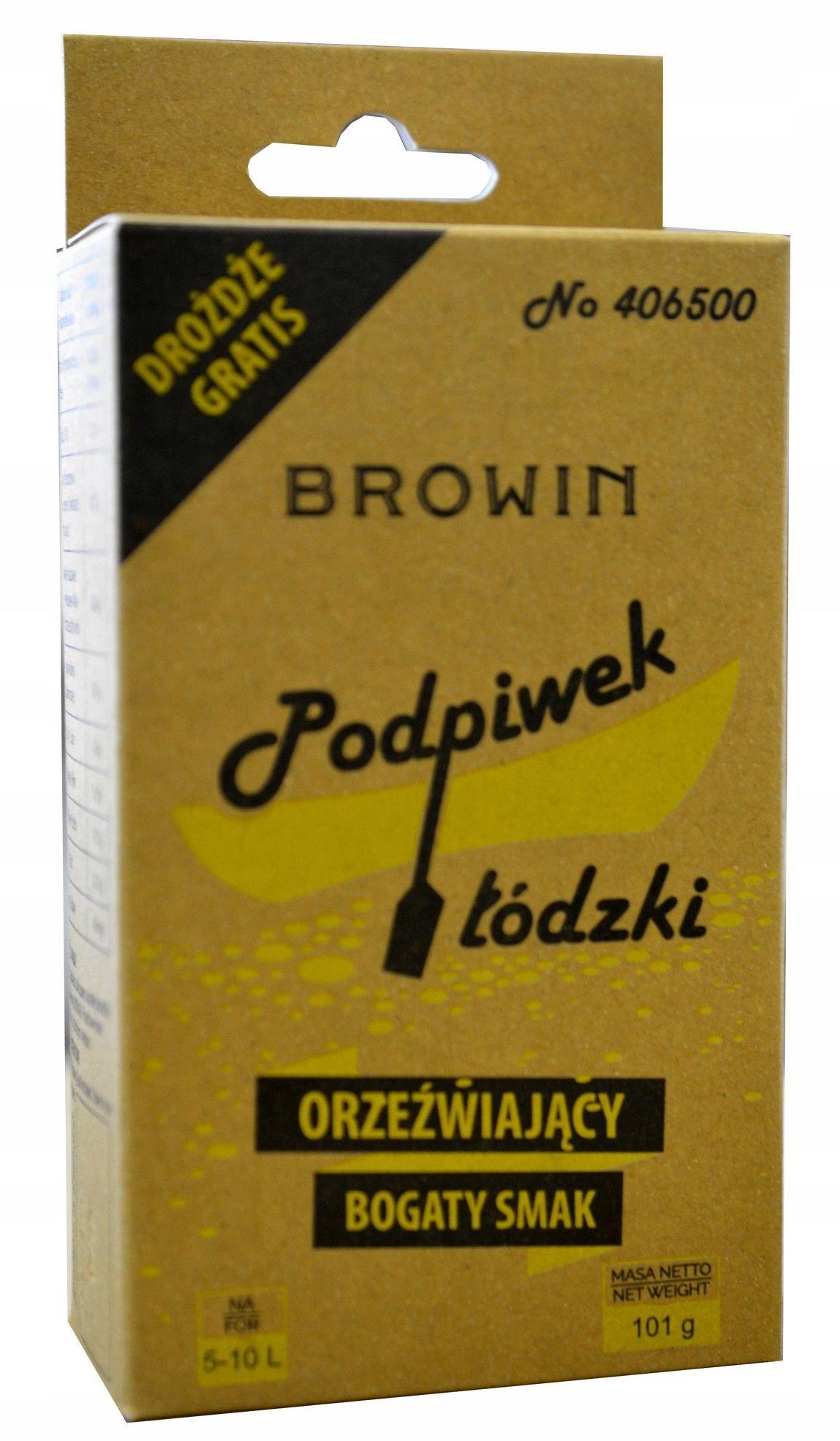 подставка ЛОДЗИНСКИЙ 100г + дрожжи BROWIN