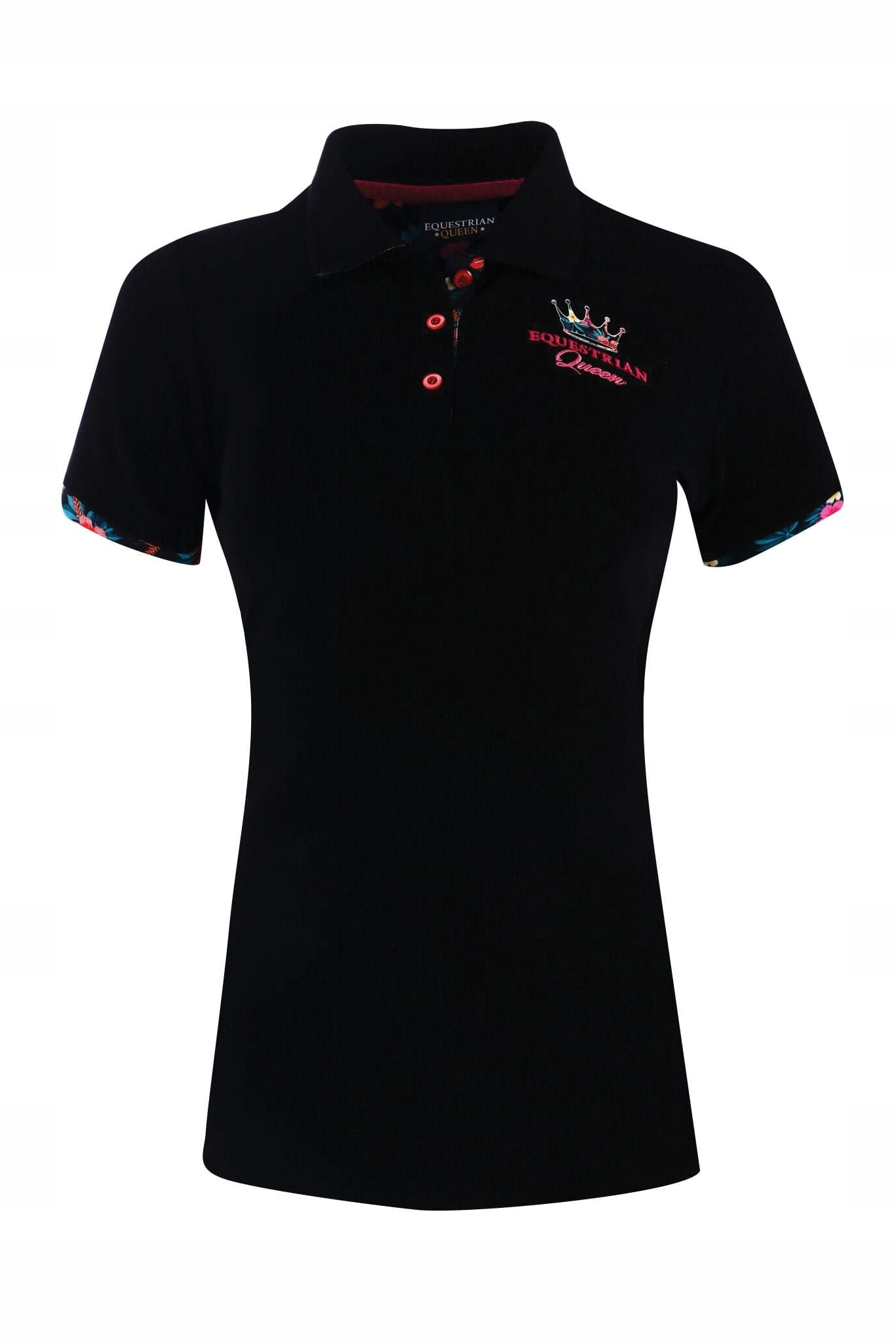 Tričko EQ.Queen Regina Dámska Čierna veľkosť XL